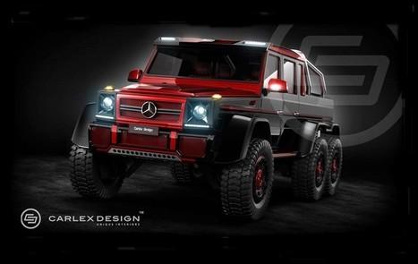 Mercedes-Benz G-CLASS | Mercedes-Benz Picture | Scoop.it