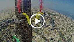 Burj Khalifa BASE Jump on Devour.com | Mon youtube | Scoop.it