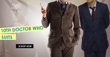 Tenth Doctor Who Blue Suit | celebrities suits | Scoop.it