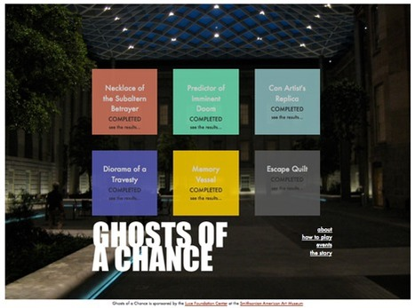 GHOSTS OF A CHANCE | Alternate Reality Games | Scoop.it
