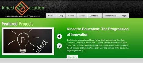Cómo usar Kinect para la educación | Aprendiendoaenseñar | Scoop.it