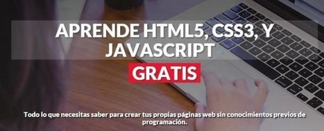 Curso gratuito de programación Web con Clases en Vivo | Educacion, ecologia y TIC | Scoop.it