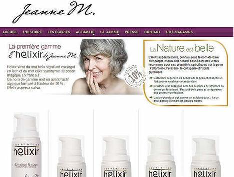Hélixir de Jeanne M, une révélation dans le monde de la beauté senior - Senior : le webzine de votre retraite | Cosmetic & Beauty | Scoop.it