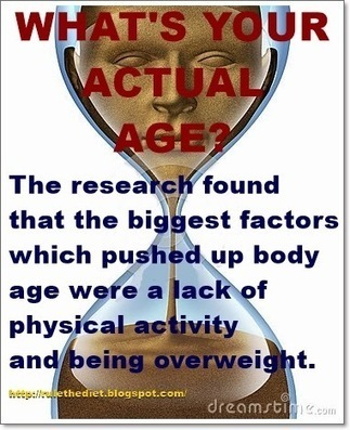 What's your REAL age? New calculator reveals how old your body really is... based on mood, diet and exercise | healthy diet for a healthy lifestyle | Scoop.it
