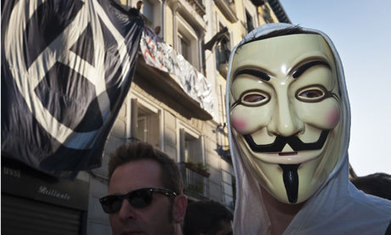 The irony of the Anonymous mask   Anonymous: Freedom seeker? or Hacker?   Scoop.it