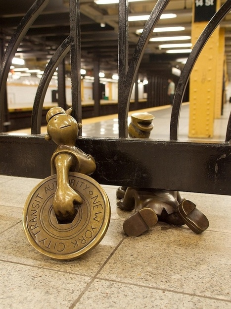 100+ Whimsical Bronze Sculptures Inhabit the NYC Subway   Culture and Fun - Art   Scoop.it