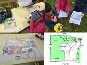 Usages du numérique au CP -Course d'orientation : Parcours en étoile et photos/ QR-codes @vtileti | Ressources Ecole | Scoop.it