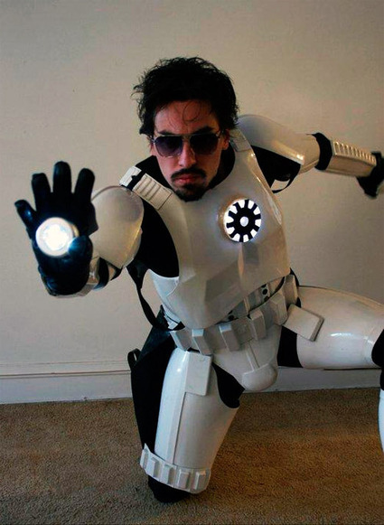 If Tony Stark Impregnated a Stormtrooper You Might Get Something Like This   Conception   Scoop.it