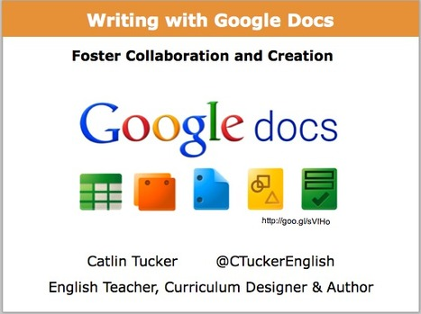 Writing with Google Docs: Foster Collaboration & Creation (While Addressing Common Core) | pre-service teacher ideas | Scoop.it