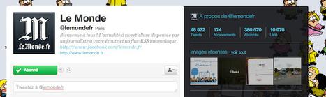 Nouveau classement des médias sur Twitter | SocialWebBusiness | Scoop.it