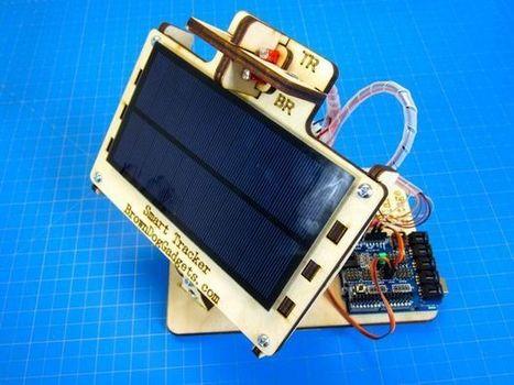 Simple Dual Axis Solar Tracker | Liens pour la STI2D | Scoop.it