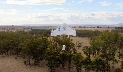 "Google's Secret Drone-Delivery Program ""project wing"" 