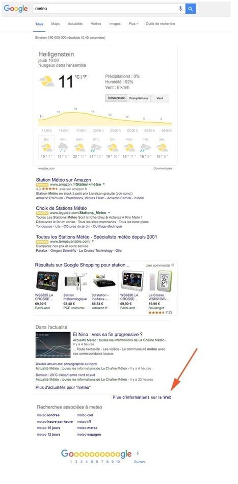Google abandonne l'affichage des résultats naturels sur 74% des requêtes ! - Actualité Abondance | SEO SEA SEM - Référencement Naturel & Payant | Scoop.it