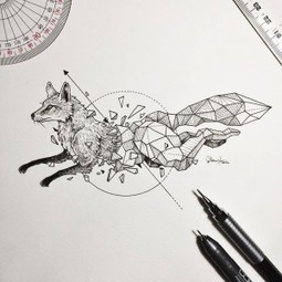 Les animaux géométriques de Kerby Rosanes