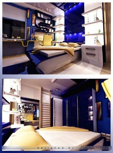40 Teenage Boys Room Designs We Love | Designing Interiors | Scoop.it