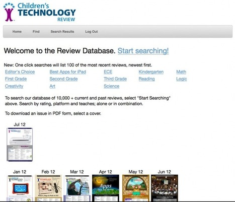 Children's Technology Review » 10500 Reviews, At Your Fingertips | iPads in kindergarten Best Practices | Scoop.it