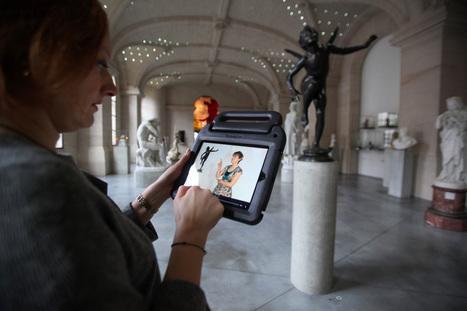 Tablettes tactiles au palais des Beaux-Arts de Lille : les enfants vont être ravis d'aller au musée | Médiation culturelle, art contemporain et publics réfractaires | Scoop.it