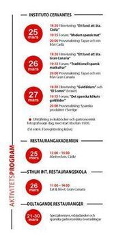 Den 25 – 27 mars 2014 har vi ett event... - Stockholms Internationella Restaurangskola | Facebook | Eat Spain up! | Scoop.it