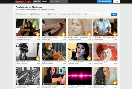 Fandalism Gives Musicians Their Own Social Network | Music business | Scoop.it