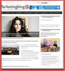 'Feeding the Sales Machine' Plan' / Seize results generated by 12 articles, stories etc. loaded into theMarketingblog over a three month period   TheMarketingblog   Fresh Marketing News   Scoop.it