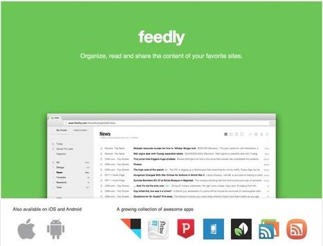 Feedly Cloud, le nouveau Google Reader compatible avec Press, gReader et compagnie | INFORMATIQUE 2015 | Scoop.it