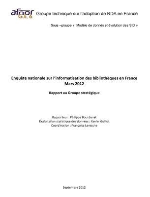 Groupe technique sur l'adoption de RDA en France | FRBR_RDA | Scoop.it