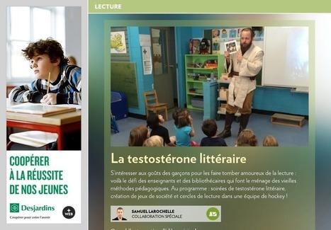 Testostérone littéraire - La Presse+ | Bibliothèque et Techno | Scoop.it