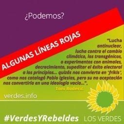 Algunas líneas rojas que imposibilitan acuerdos de Los Verdes con Podemos   Opinión   Scoop.it