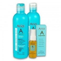 Best Buy Fine - Normal Hair - Aria Gold | Argan Moroccan Oil Treatment Shampoo & Conditioner | Scoop.it