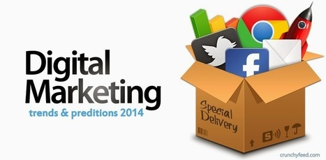 Digital Marketing trends and predictions 2014 | CrunchyFeed | Technology | Scoop.it