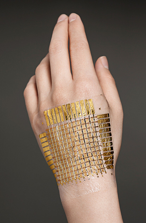 Bionic Skin for a Cyborg You - IEEE Spectrum | FutureChronicles | Scoop.it