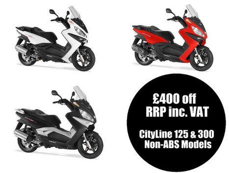 Rieju City Line Special Offer Save £400 Inc VAT Whilst Stocks Last | Motorcycle Industry News | Scoop.it