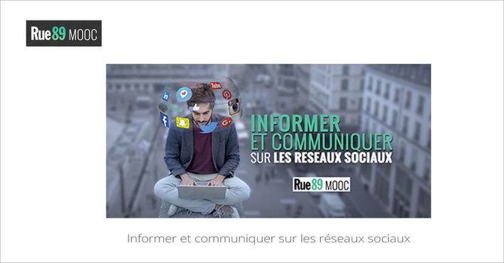 [Today] MOOC Informer et communiquer sur les réseaux sociaux | MOOC Francophone | Scoop.it