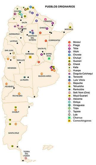 Pueblos originarios que habitan en Argentina | aborígenes argentinos | Scoop.it