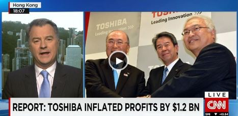 Toshiba CEO resigns over $1.2 billion accounting scandal | People Transform Organizations | Scoop.it