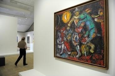 Un Chagall nourri de poésie au centre d'art contemporain de Landerneau | Patrimoine culturel - Revue du web | Scoop.it