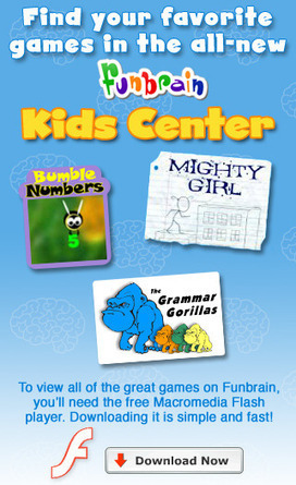 FunBrain.com - The Internet's #1 Education Site for K-8 Kids and Teachers - Funbrain.com | Financial education and literacy | Scoop.it