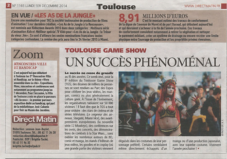 Direct Matin - Encore une nomination pour TAT | The Jungle Bunch | Scoop.it
