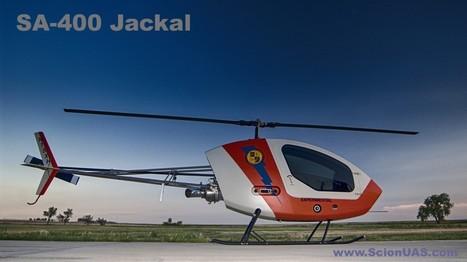 SA-400 Jackal - Premiers essais en vol piloté réussi   Drone Trend   deco   Scoop.it