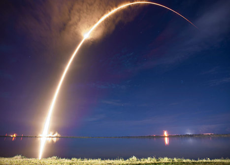 SpaceX Successfully Launches AsiaSat 6 - SpaceRef Business | Satellite Communications | Scoop.it