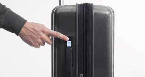 La valise connectée prête à débarquer en Europe | PROSPECTIVE DESIGN | Scoop.it