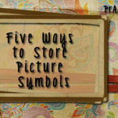 Five Ways to Store Picture Symbols | AAC: Augmentative and Alternative Communication | Scoop.it