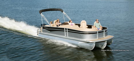 Cayman 230 Series Pontoon Boats Dealers and Manufacturers| Fishing Pontoon Boats : 2014 | Pontoon Manufacturers | Scoop.it