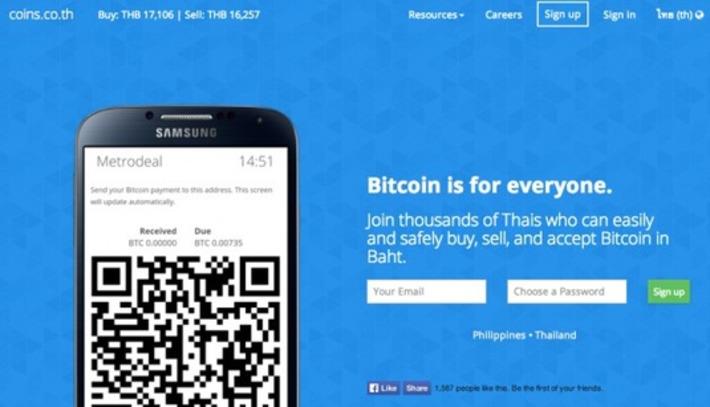 Bitcoin Ban Fear Fades in Thailand With Exchange Launch | money money money | Scoop.it