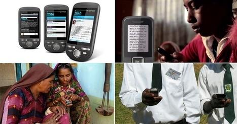 Projetos usam celular para ampliar acesso à educação pelo mundo | eLearning_mLearning | Scoop.it
