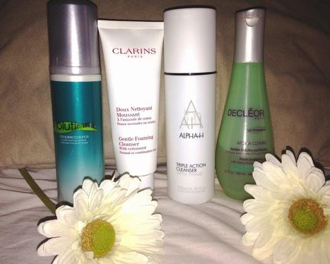 Beautyfineprint: Beauty essentials-cleansers | Beauty | Scoop.it
