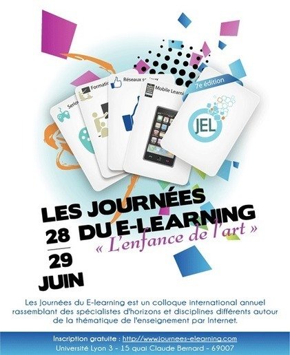 Journées du E-learning 28 et 29 juin/Lyon | Inventer le monde | Scoop.it