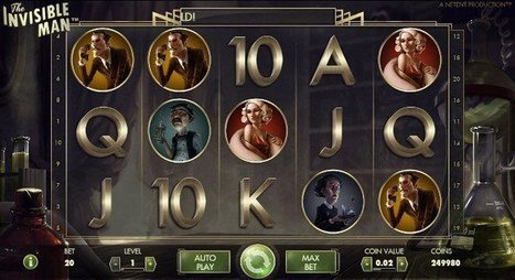 New The Invisible Man slot online | Online Slots | Scoop.it