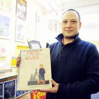 La deuxième BD la plus chère au monde sera mise aux enchères à Liège | Tintin, par Hergé | Scoop.it