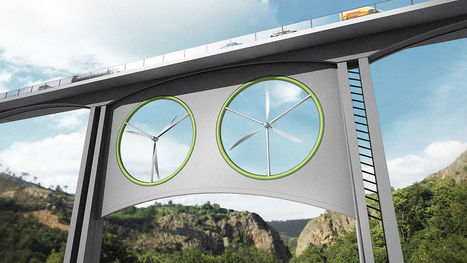Clean energy: electricity from viaducts railways and highways   Creative Business   Creative Business   Scoop.it